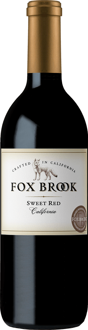 Fox Brook Sweet Red Wine Bottleshots