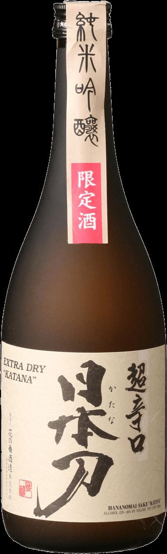 Katana Sake Junmai Ginjo Bottleshot