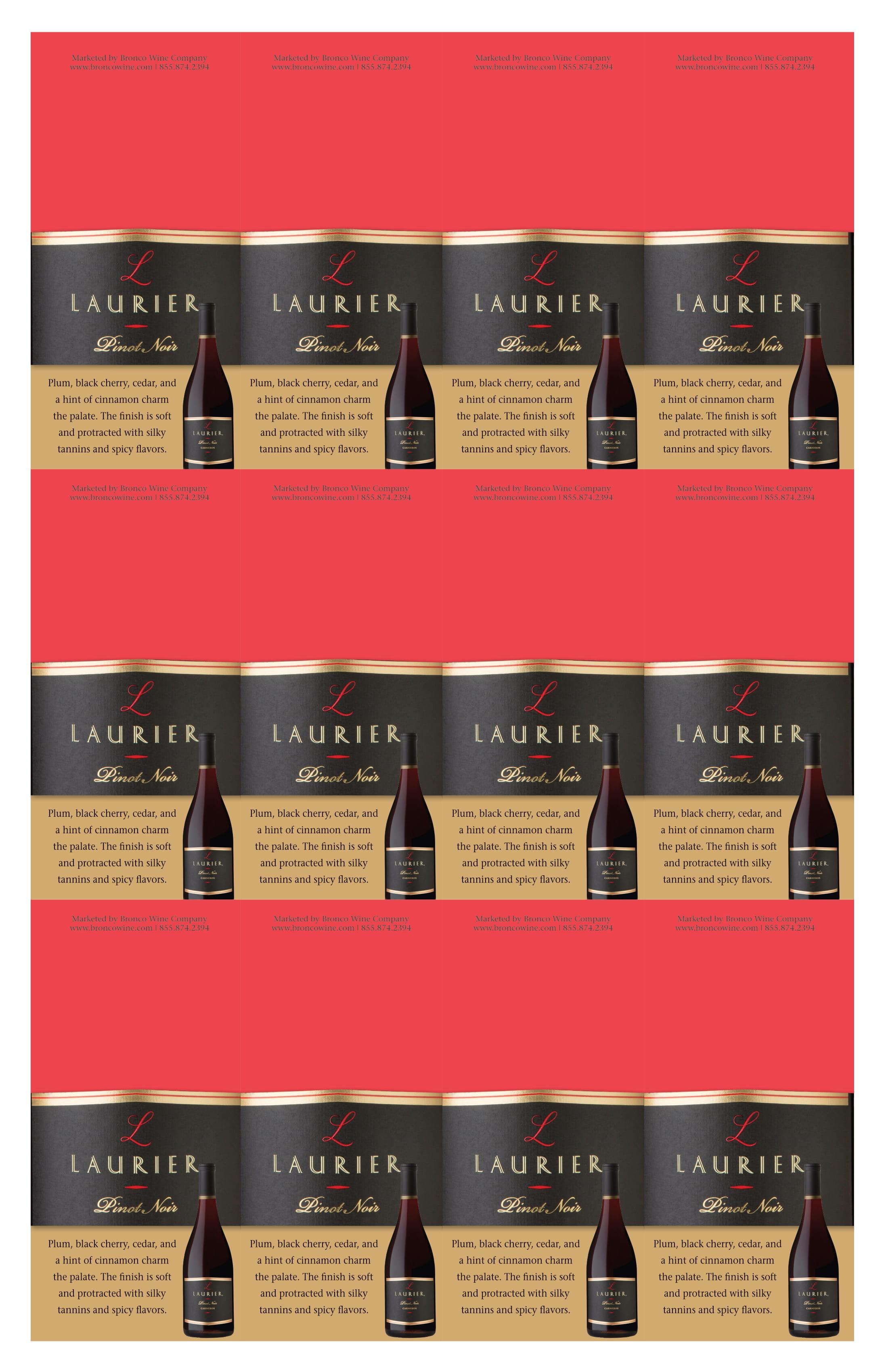 Laurier Pinot Noir Necker
