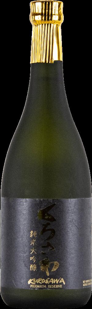 Kurosawa Sake Daiginjo Premium Sake Bottleshot