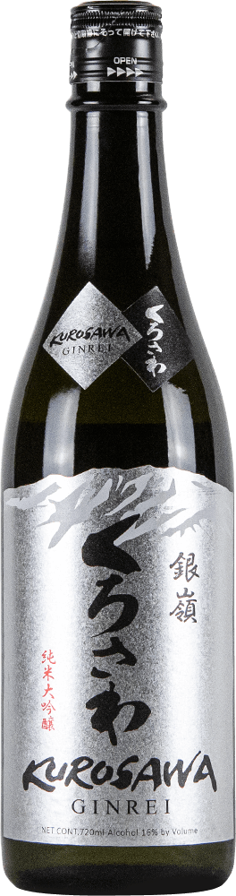 Kurosawa Sake Junmai Ginrei Bottleshot