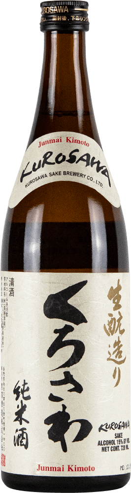 Kurosawa Sake Junmai Kimoto Bottleshot