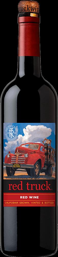 Red Truck Red Wine Bottleshot