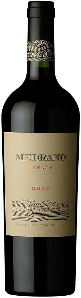 Medrano Estate Malbec Bottle Shot