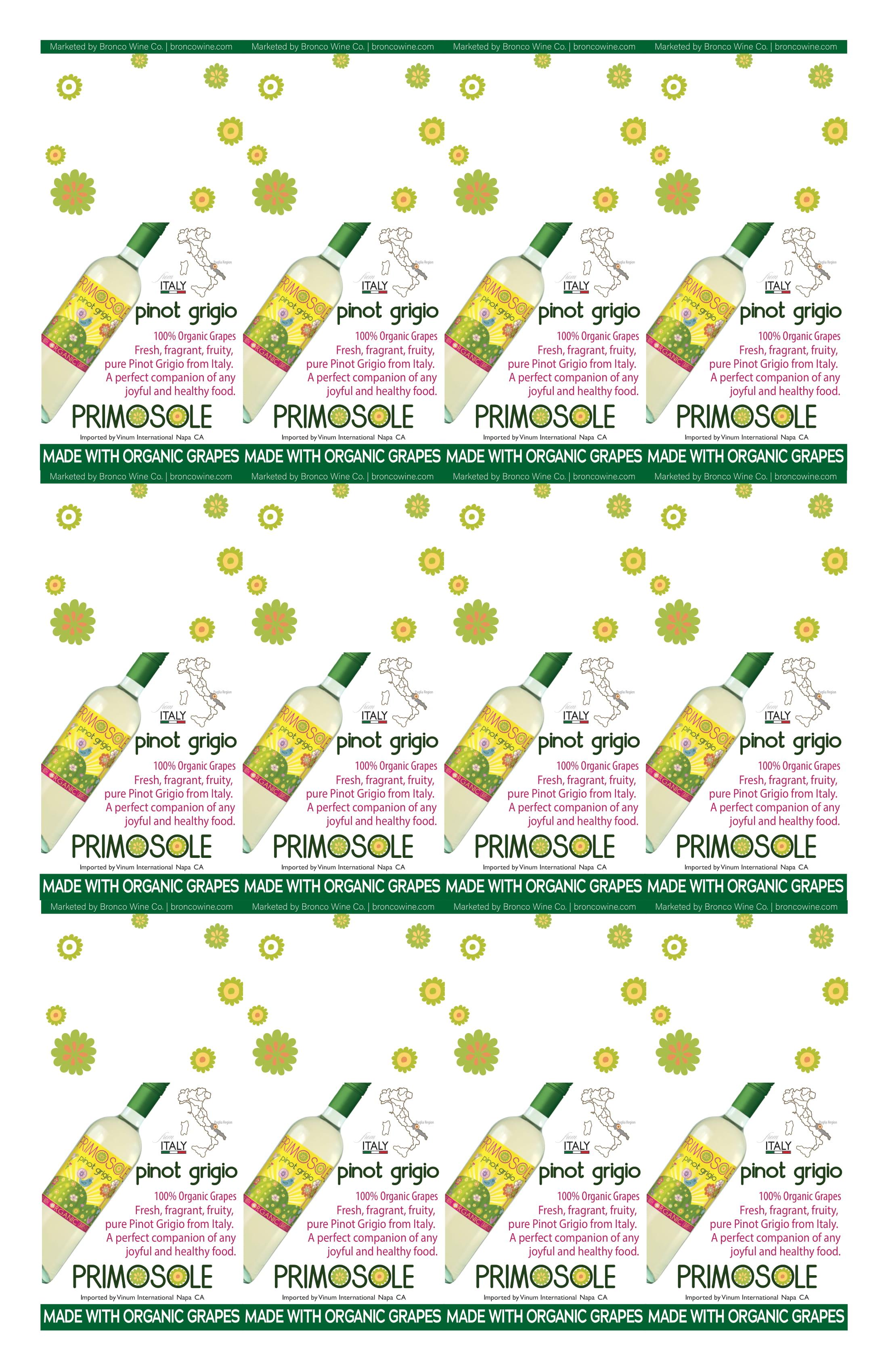 PrimoSole Pinot Grigio Necker
