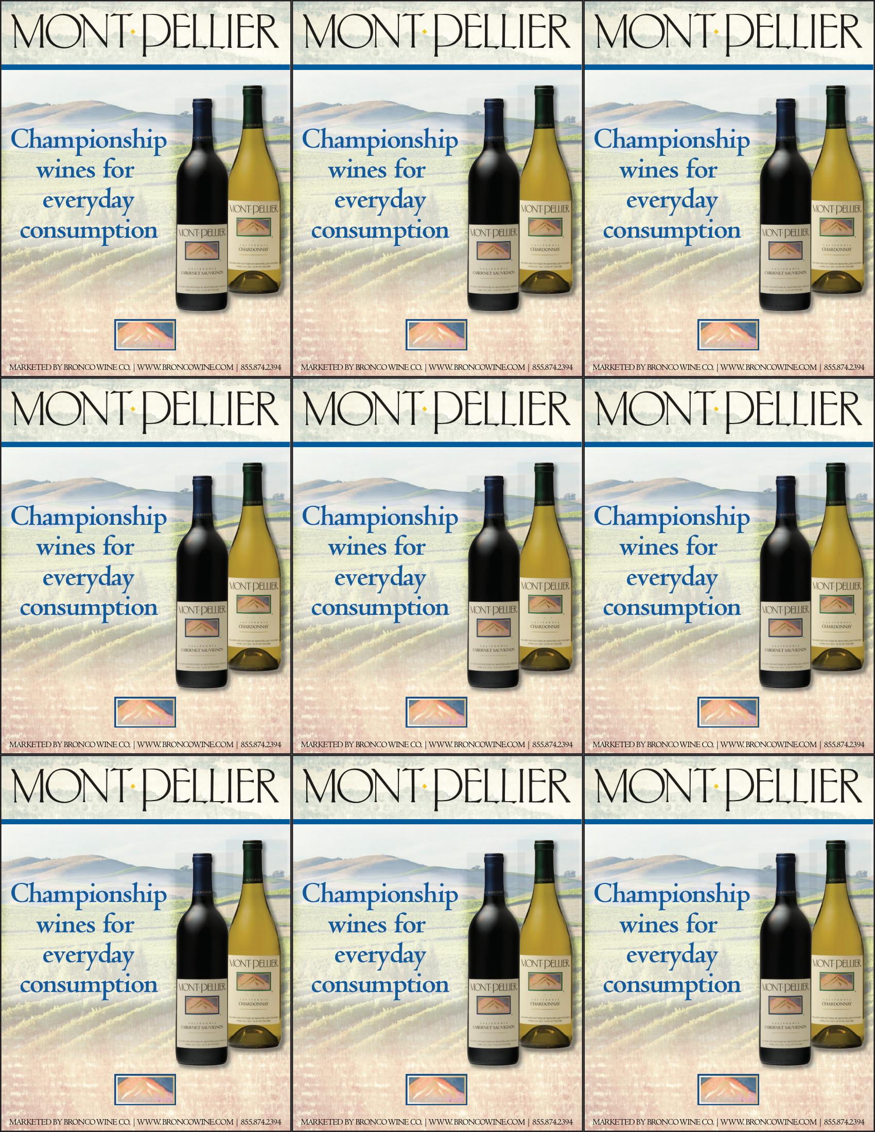 Montpellier Generic Shelf Talker
