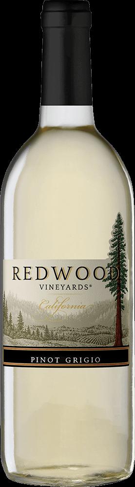 Redwood Vineyards Pinot Grigio Bottleshot