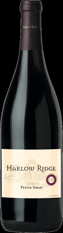Harlow Ridge Petite Sirah Bottleshot