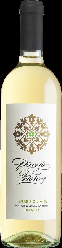 Piccolo Fiore Bianco Terre Siciliane Bottleshot