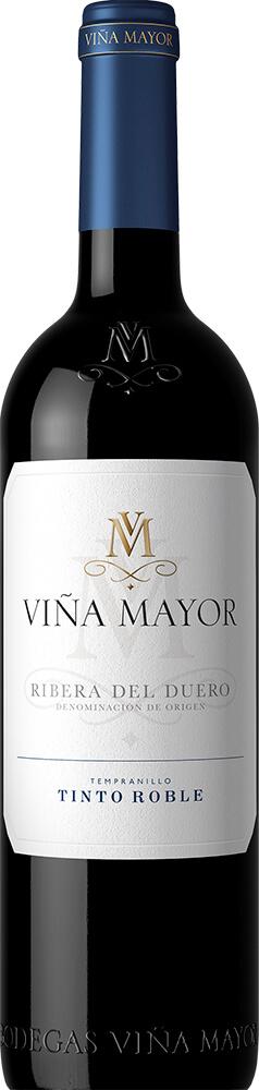 Viña Mayor Barrel Aged Tempranillo Bottleshot
