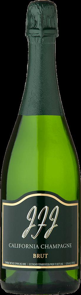 JFJ Winery Brut Bottleshot