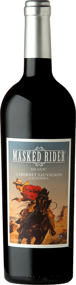 Masked Rider Six Gun Cabernet Sauvignon Bottleshot