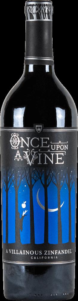 Once Upon A Vine A Villainous Zinfandel Bottleshot