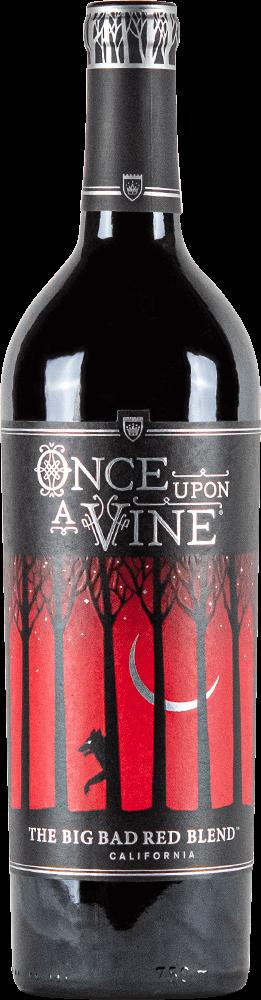 Once Upon A Vine Big Bad Red Blend Bottleshot