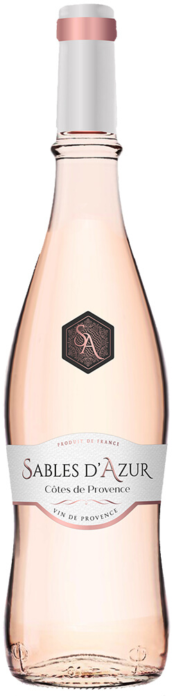 Sables d'Azur Cotes de Provence Bottle Shot
