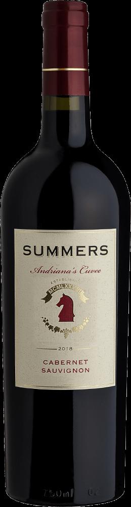 Summers Cabernet Sauvignon Andriana's Cuvée Bottleshot