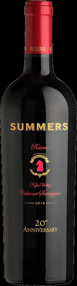 Summers Cabernet Sauvignon Reserve Bottleshot