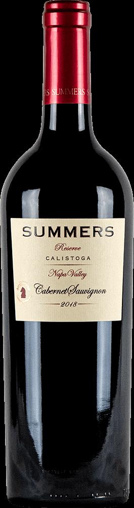 Summers Calistoga Cabernet Sauvignon Bottleshot