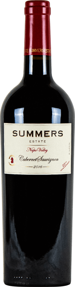 Summers Napa Cabernet Sauvignon Bottleshot