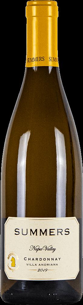 Summers Napa Valley Chardonnay Bottleshot