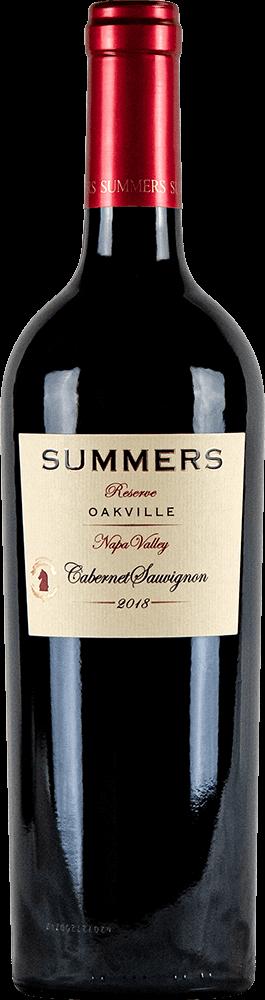 Summers Oakville Cabernet Sauvignon Bottleshot