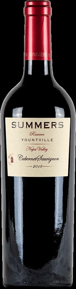 Summers Yountville Cabernet Sauvignon Bottleshot