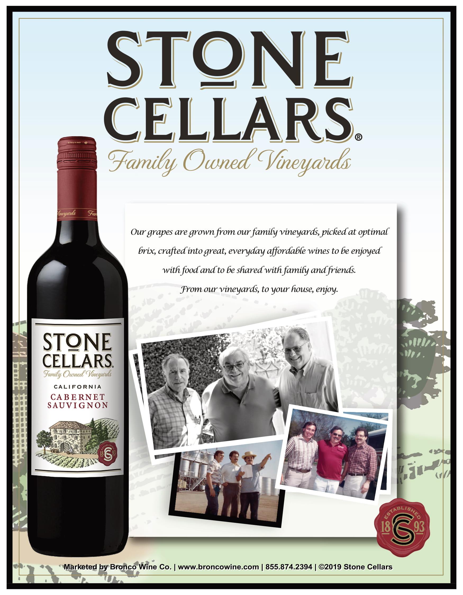 Stone Cellars Family Sell Sheet
