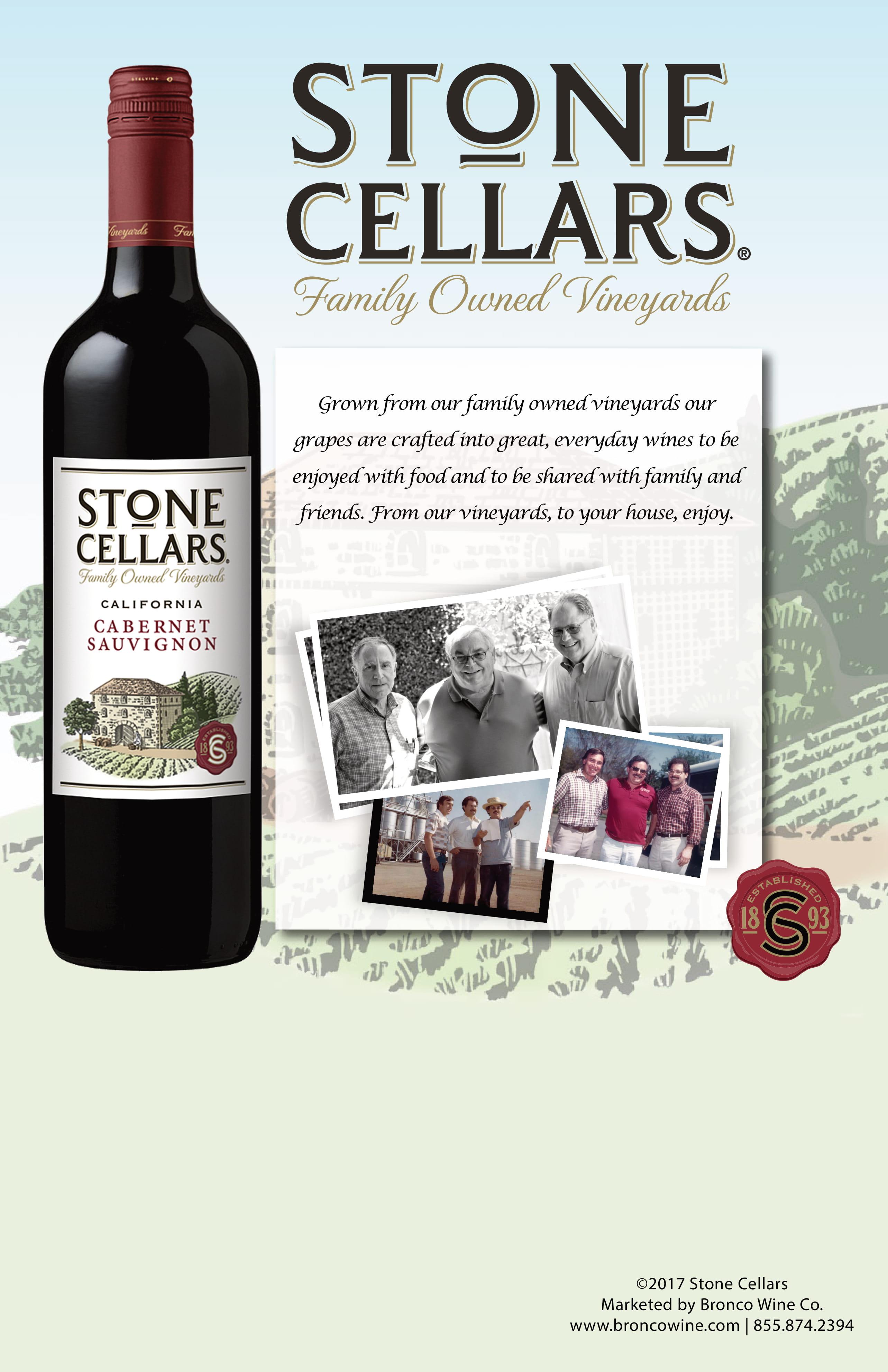 Stone Cellars General Case Card