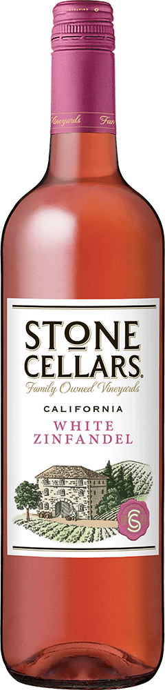 Stone Cellars White Zinfandel Bottleshot