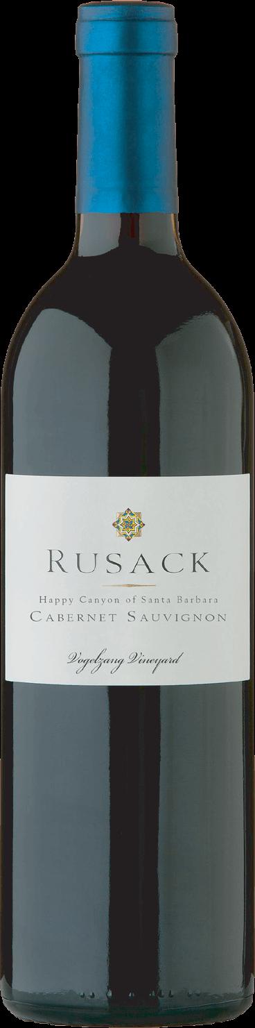 Rusack Vineyards Cabernet Sauvignon Vogelzang Vineyards Bottleshot