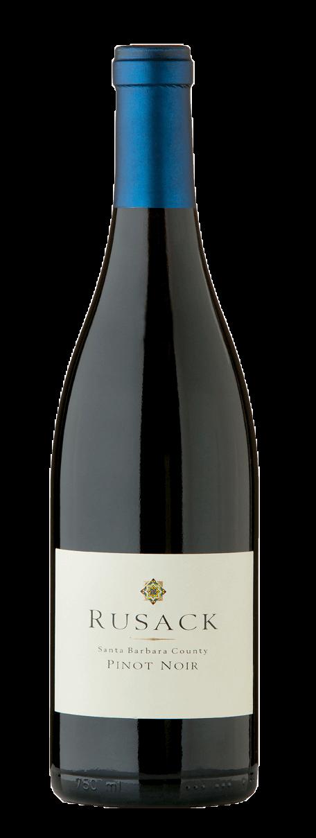 Rusack Vineyards Pinot Noir Santa Barbara County Bottleshot
