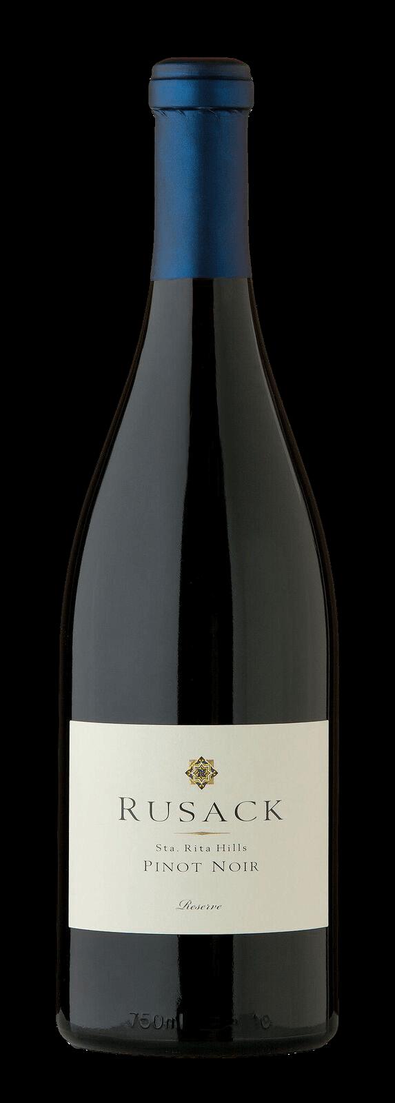 Rusack Vineyards Pinot Noir Santa Rita Hills Reserve Bottleshot