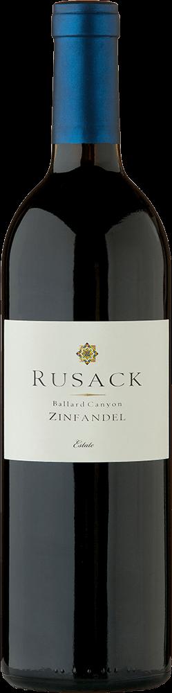 Rusack Vineyards Zinfandel Ballard Canyon Estate Bottleshot