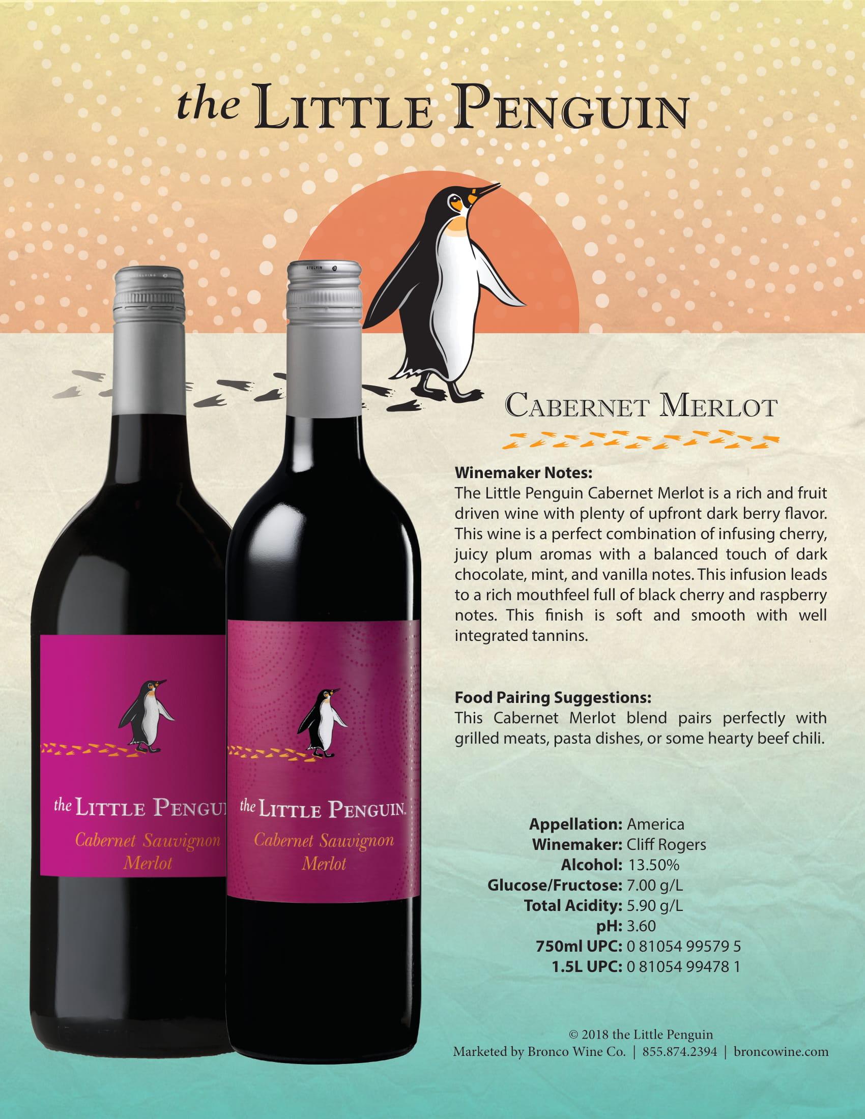 The Little Penguin Cabernet Merlot Tech Sheet