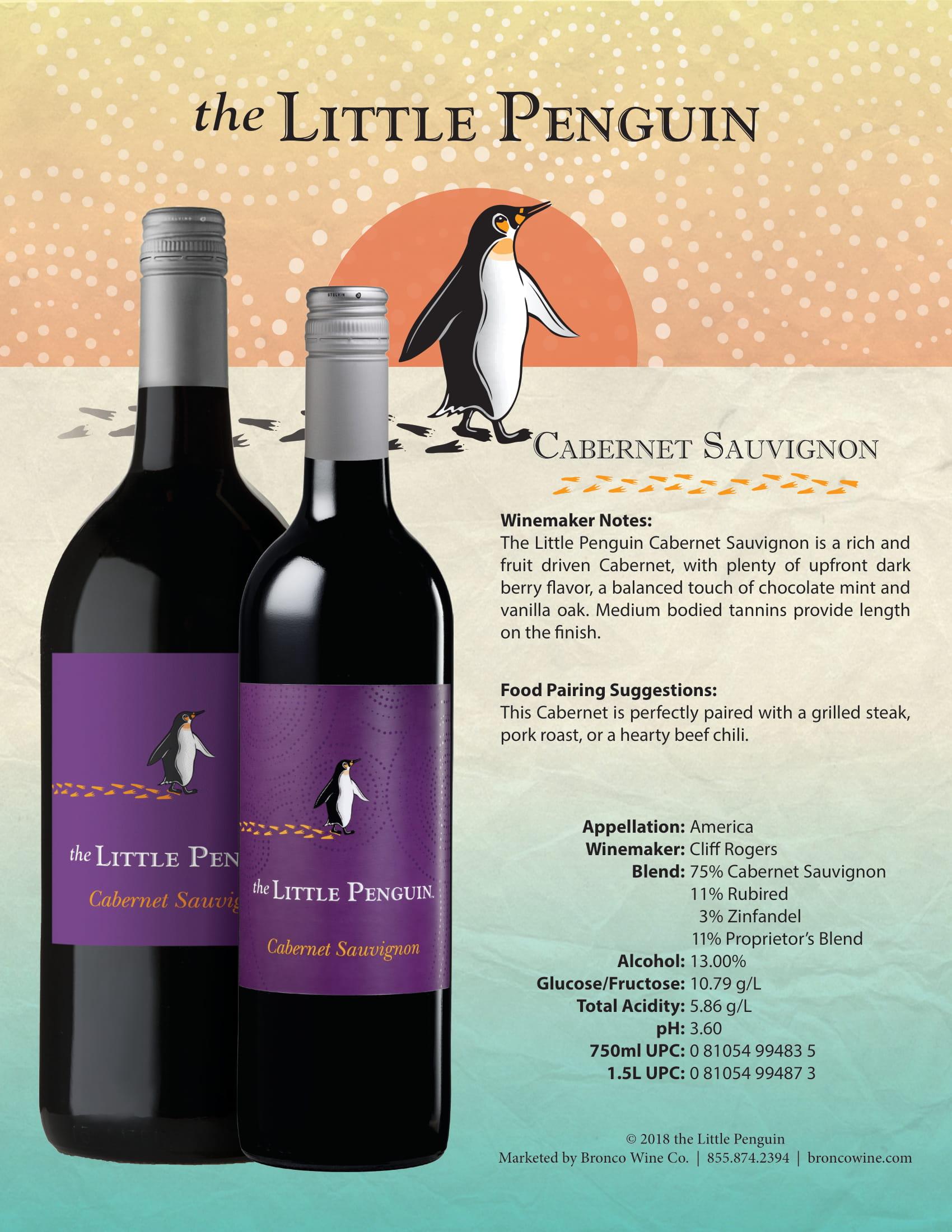 The Little Penguin Cabernet Sauvignon Tech Sheet