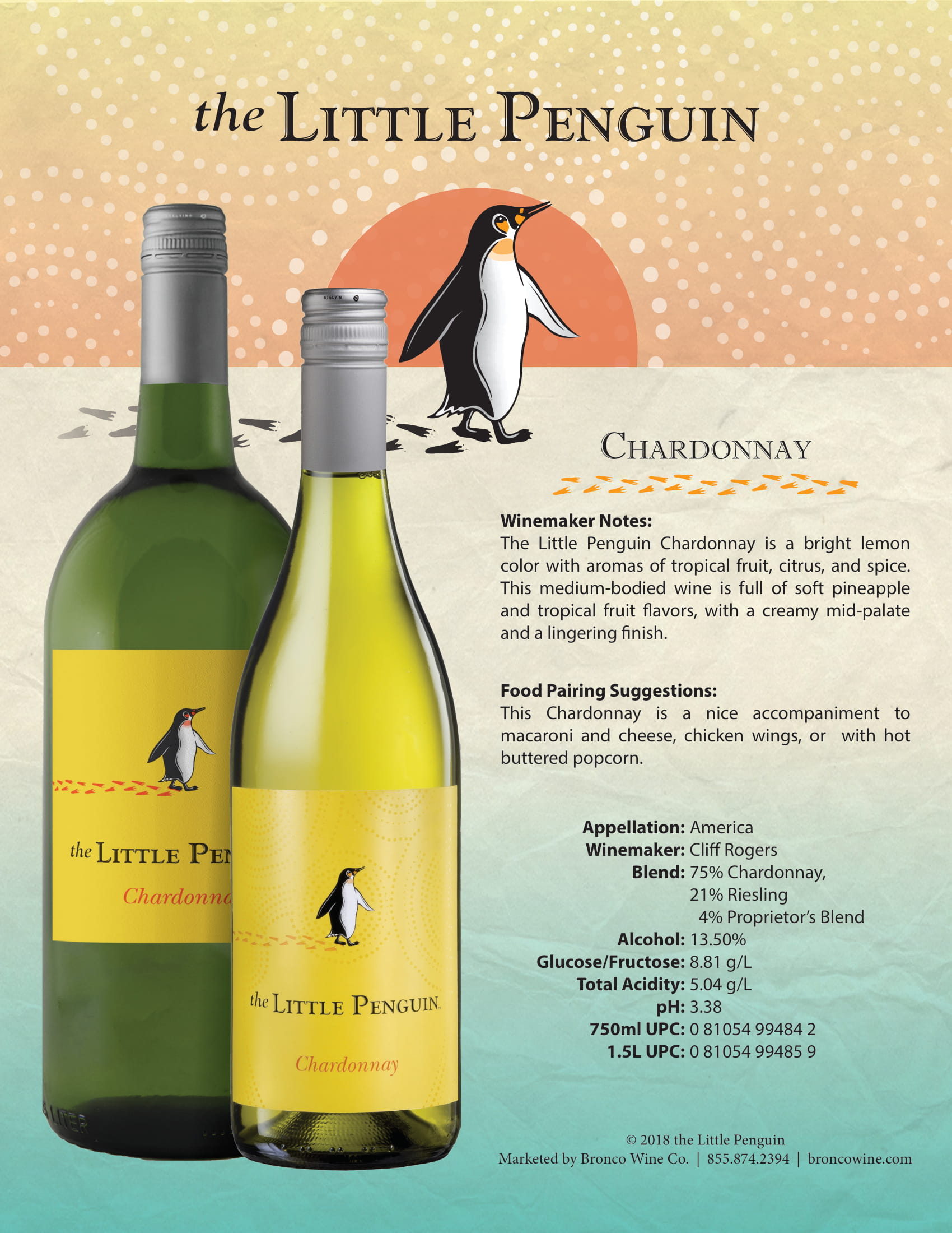 The Little Penguin Chardonnay Tech Sheet