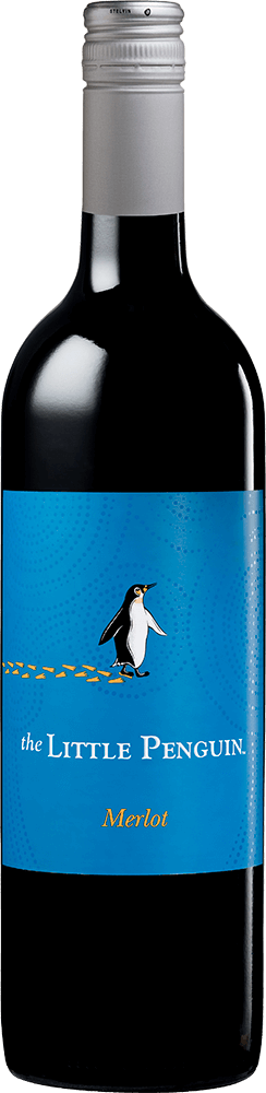 The Little Penguin Merlot Bottleshot