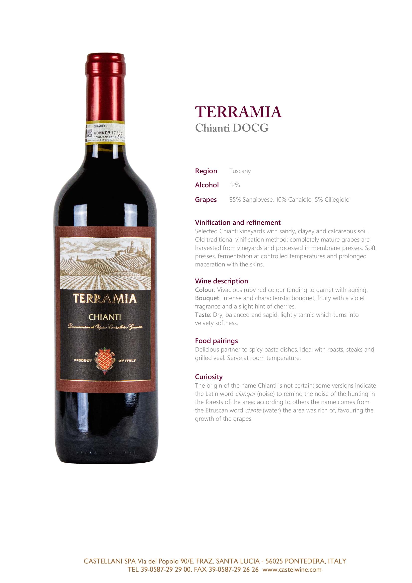 Terramia Chianti Tech Sheet