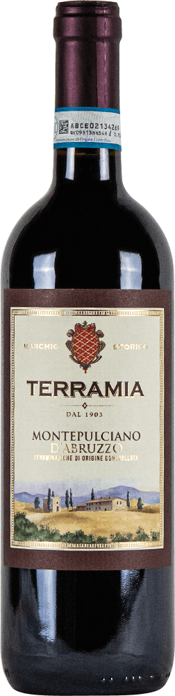 Terramia Montepulciano D'Abruzzo Bottleshot