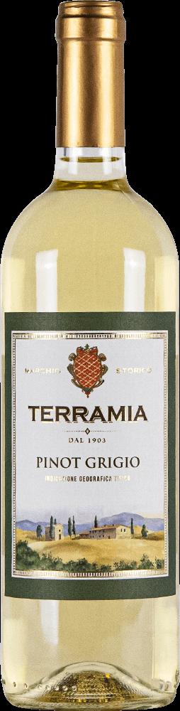 Terramia Pinot Grigio Bottleshot