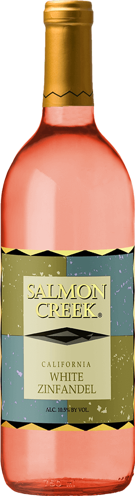 Salmon Creek White Zinfandel Bottleshot