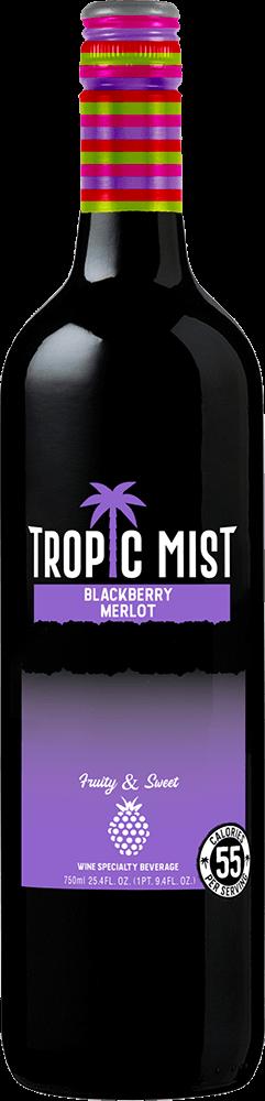 Tropic Mist Blackberry Merlot Bottleshot