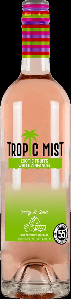 Tropic Mist Exotic Fruits White Zinfandel Bottleshot