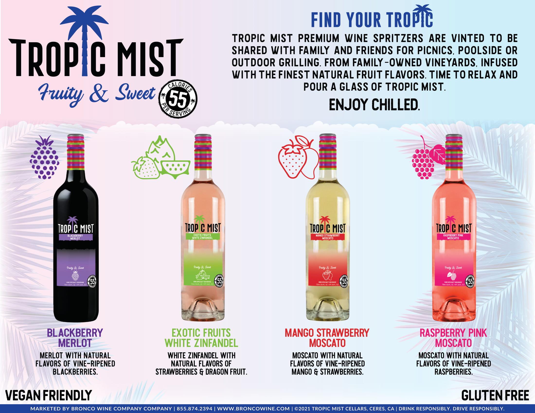 Tropic Mist Family Sell Sheet