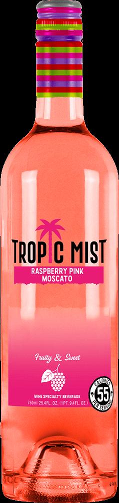 Tropic Mist Raspberry Pink Moscato Bottleshot