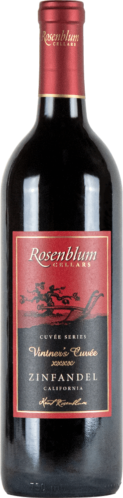 Rosenblum Cellars Vintner's Cuvée XXXX Zinfandel Bottleshot