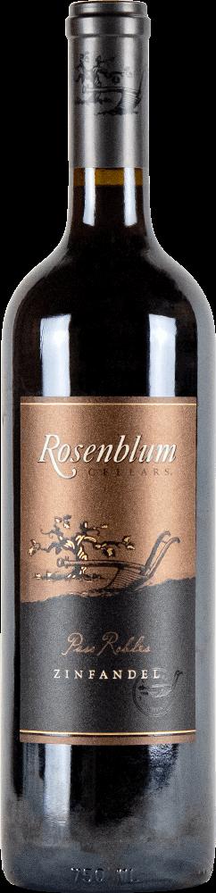 Rosenblum Cellars Zinfandel Paso Robles Bottleshot