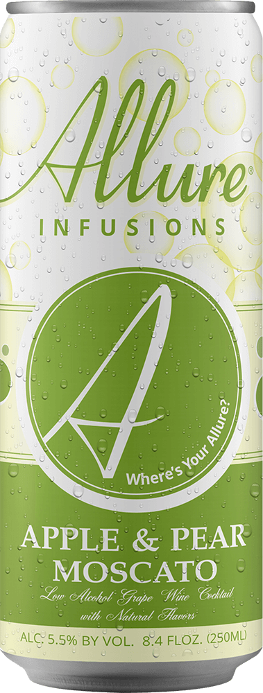 Allure Infusions Apple Pear Moscato Can