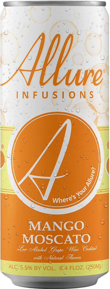 Allure Infusions Mango Moscato Can