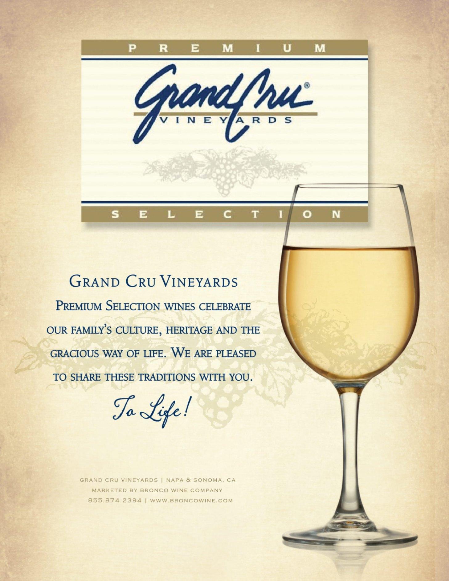 Grand Cru Family Sell Sheet